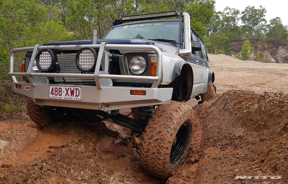 GQ Nissan Patrol Mud Flex