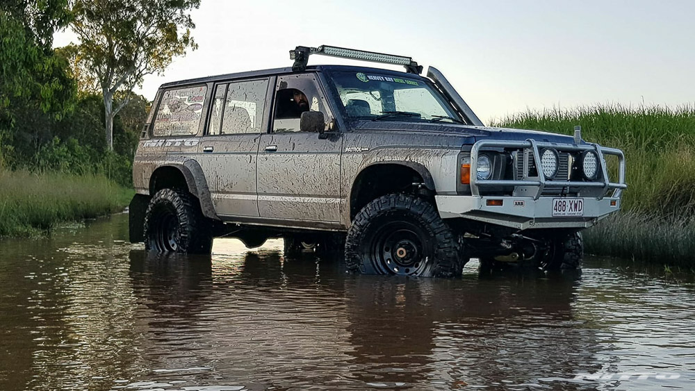 GQ Nissan Patrol River Crossing